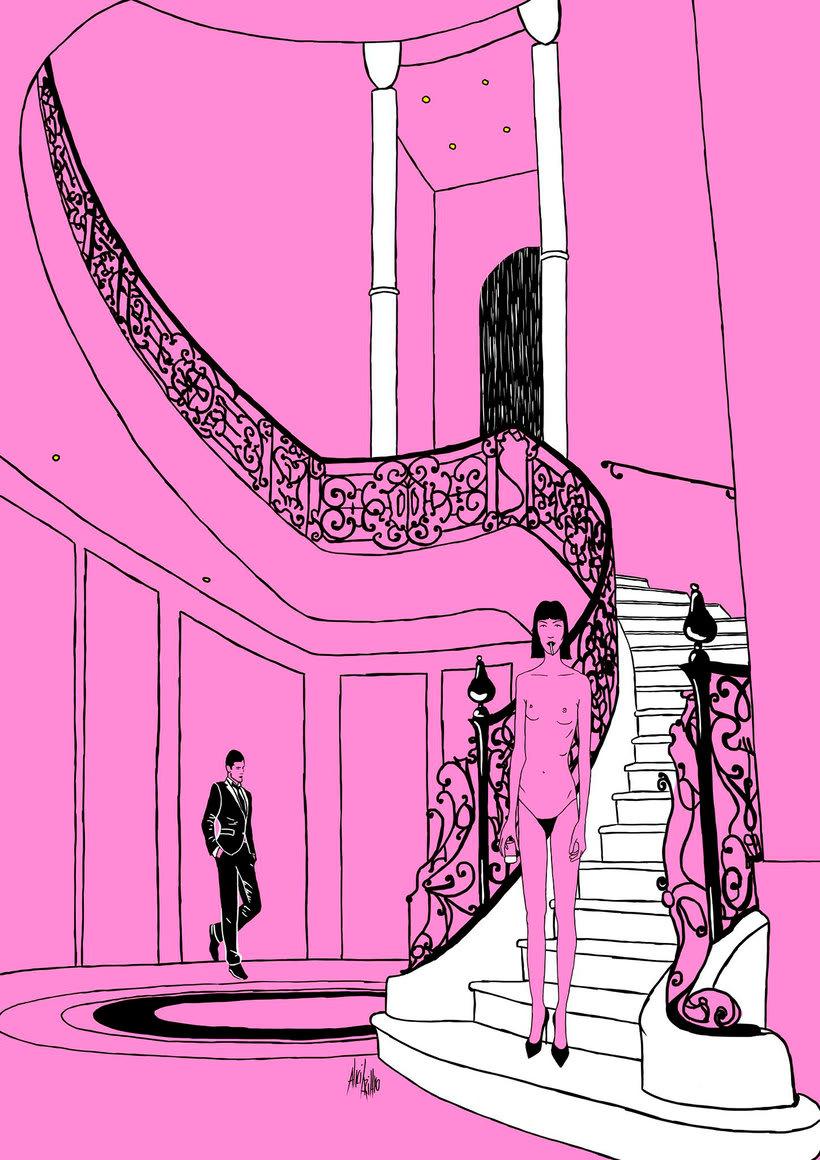 Alicia Rihko: ¡todo al rosa! 11