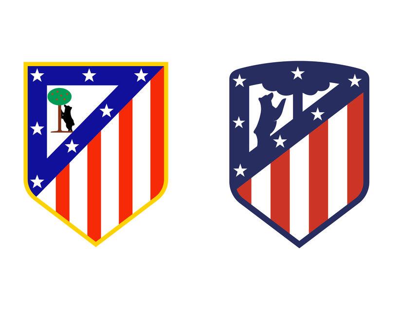 4 logotipos de fútbol antes y después de ser rediseñados 5