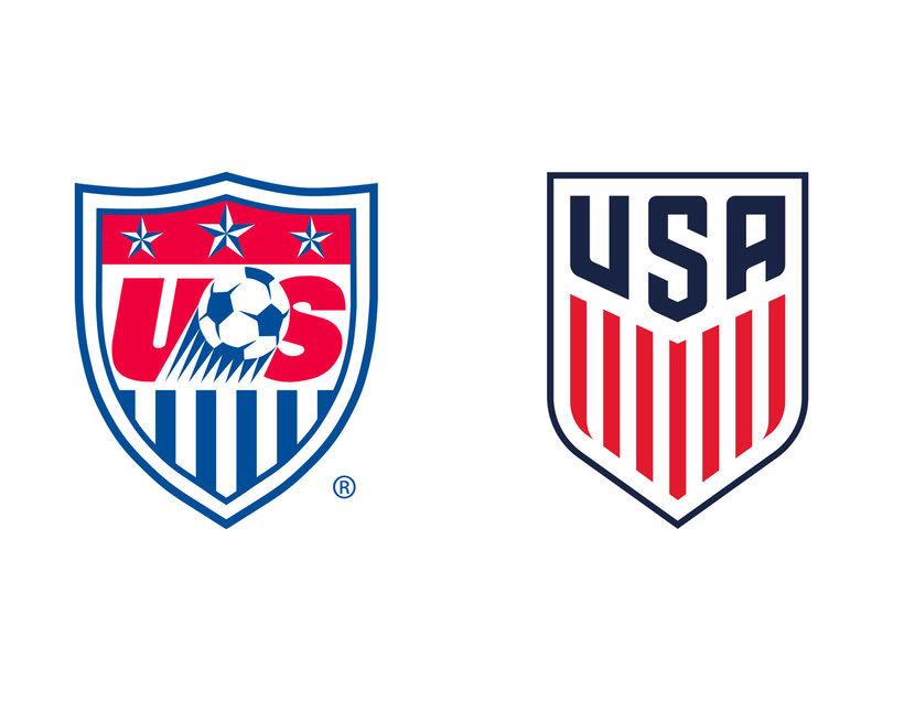 4 logotipos de fútbol antes y después de ser rediseñados 10