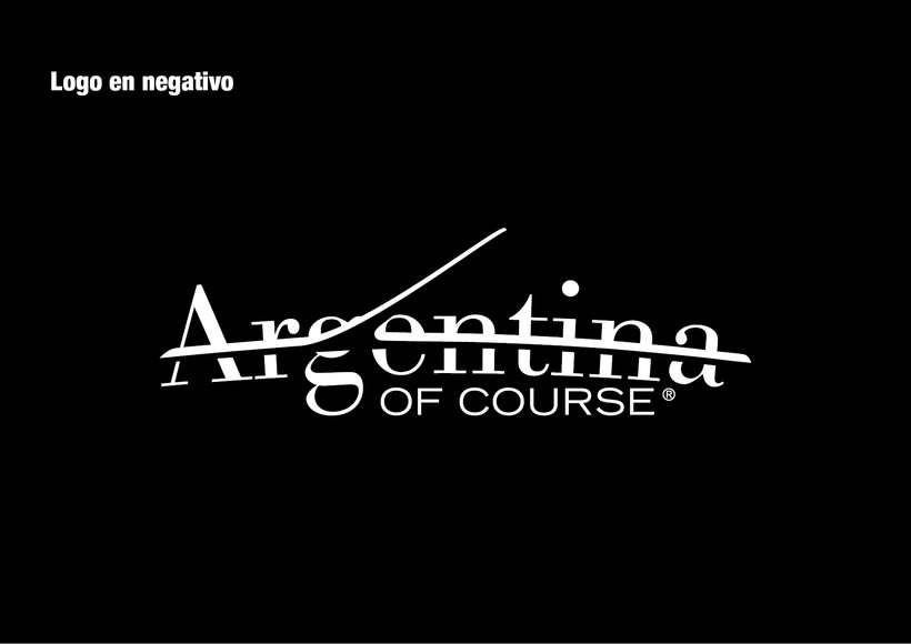 Branding Argentina of Course 6