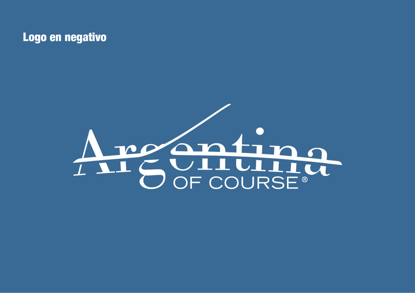 Branding Argentina of Course 9