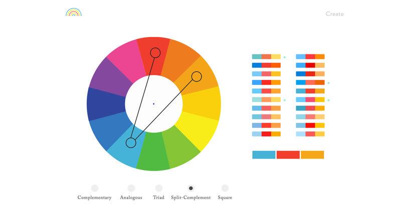 Color Supply: paletas de color en un click 1