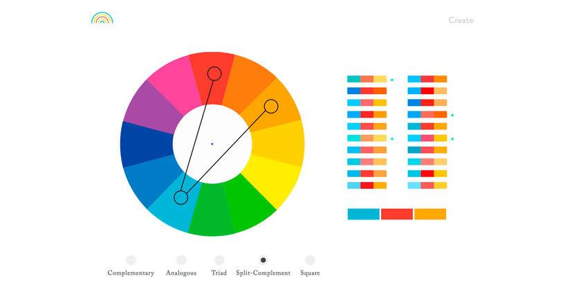 Color Supply: paletas de color en un click 5