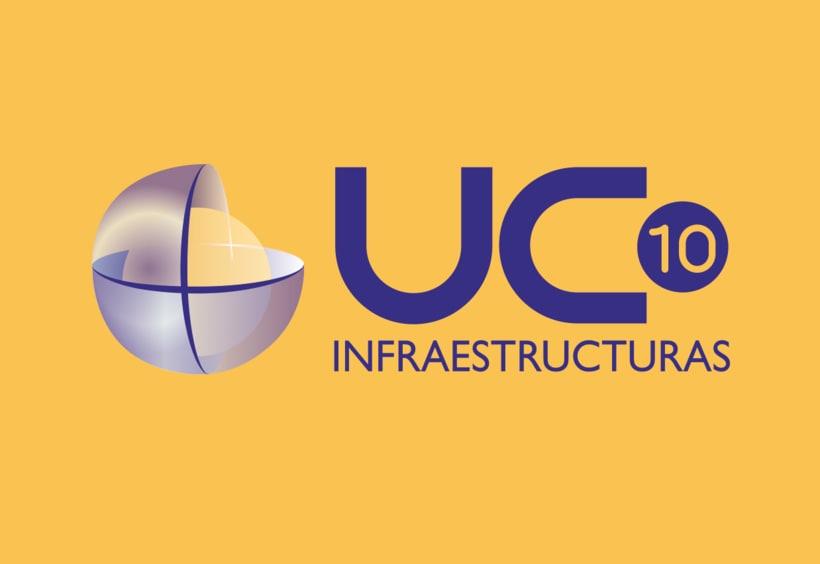 Identidad gráfica. UC10 infraestructuras 1