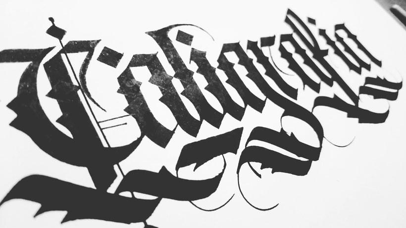 Caligrafía. 11