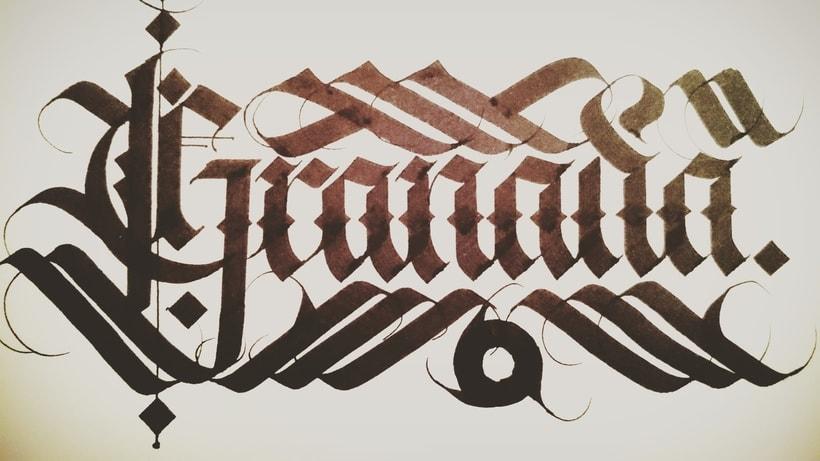 Caligrafía. 13