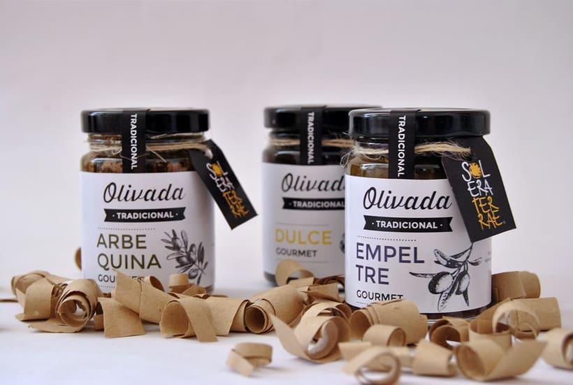 Diseño de gráfica para packaging - Olivada Solera Terrae 1