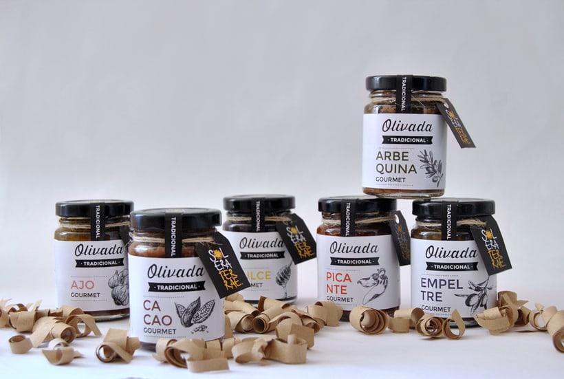 Diseño de gráfica para packaging - Olivada Solera Terrae 2