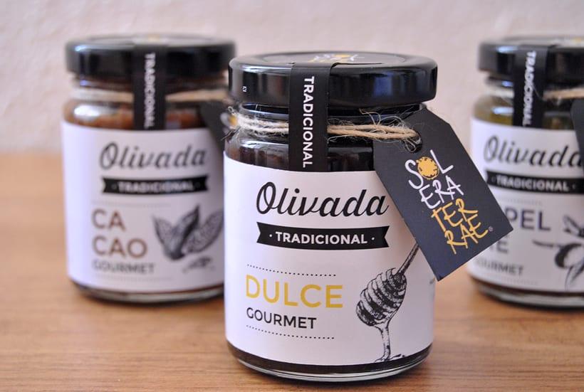 Diseño de gráfica para packaging - Olivada Solera Terrae 3
