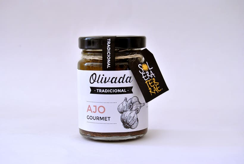 Diseño de gráfica para packaging - Olivada Solera Terrae 5