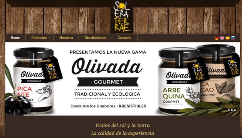 Diseño de gráfica para packaging - Olivada Solera Terrae 10