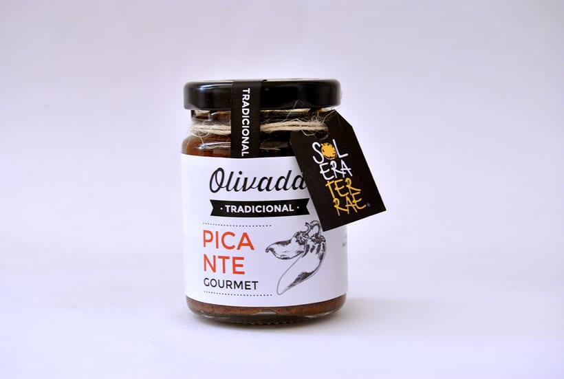 Diseño de gráfica para packaging - Olivada Solera Terrae 6
