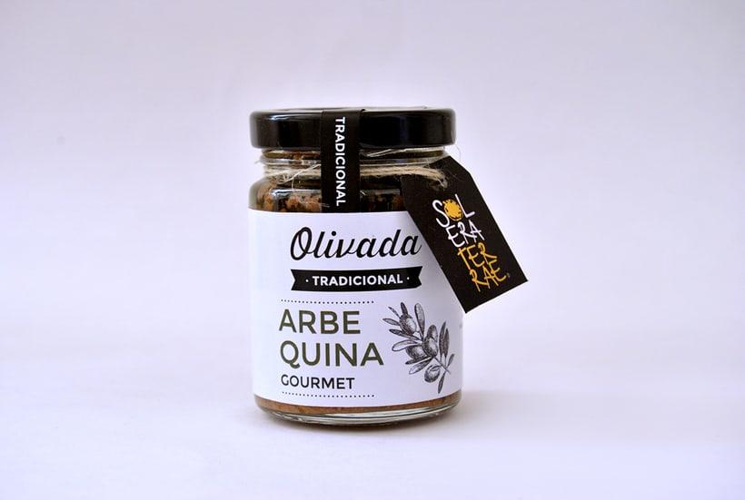 Diseño de gráfica para packaging - Olivada Solera Terrae 8