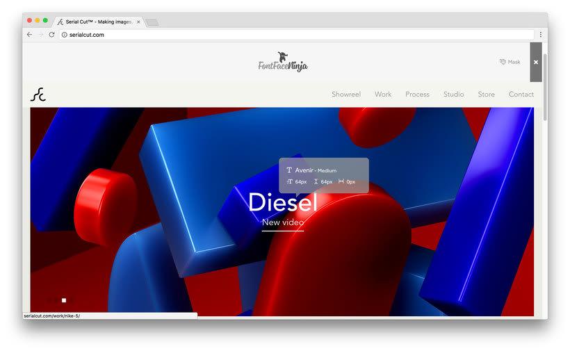 Fontface Ninja: el plugin para identificar tipografías 3