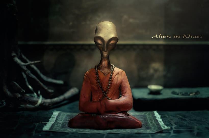 Alien in Khasi. -1