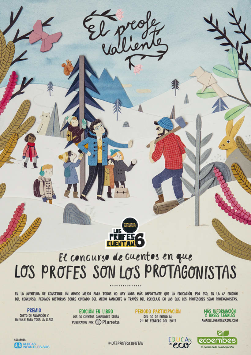 """Posters """"Los Profes Cuentan 6"""" 1"""