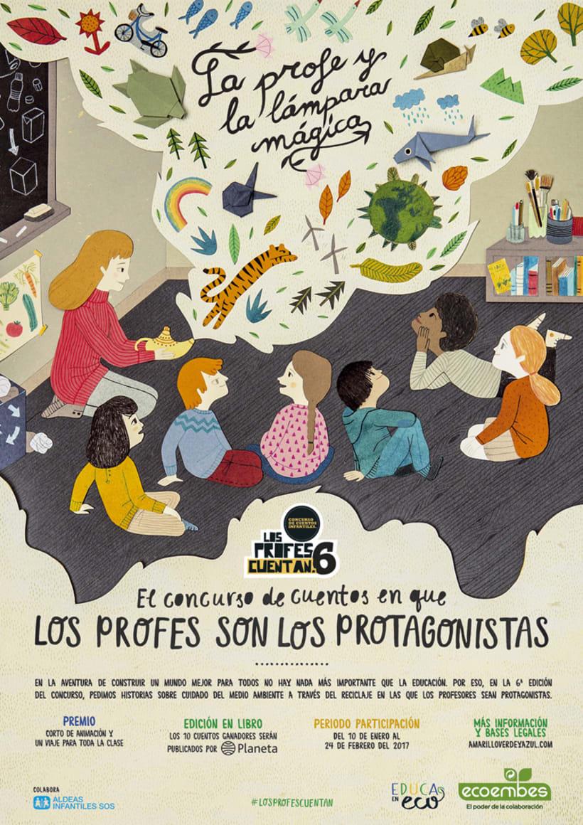 """Posters """"Los Profes Cuentan 6"""" 3"""