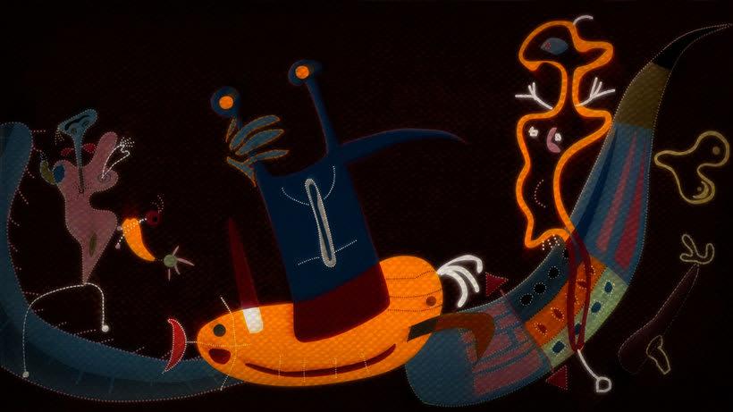 The Sleepwalker: Lorca y Miró en versión animada 5