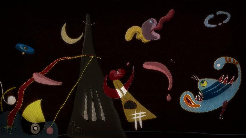 The Sleepwalker: Lorca y Miró en versión animada 7