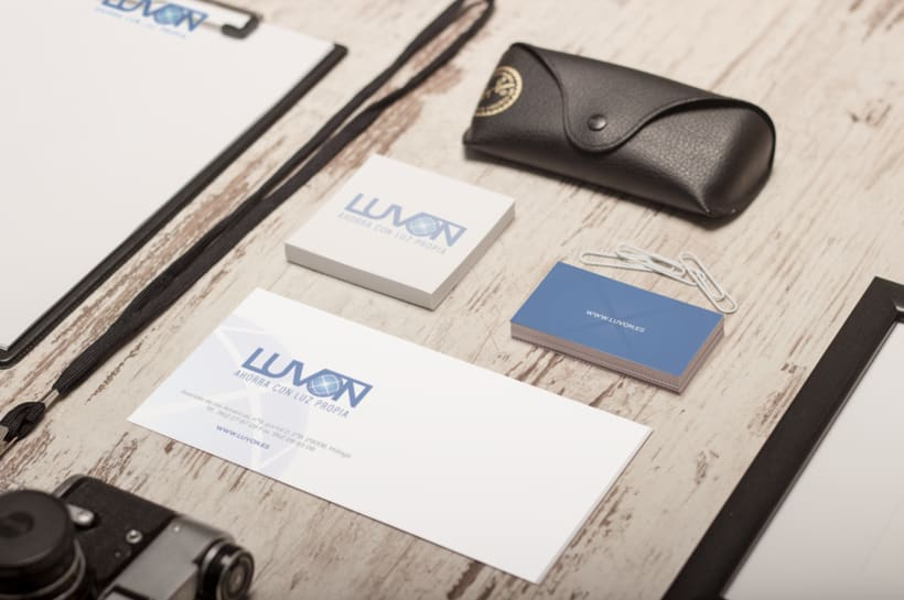 Logotipo- Luvón, compañía de energía 4