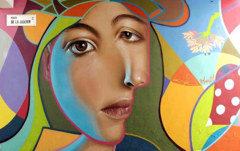 El graffiti realista-cubista de Belin 1