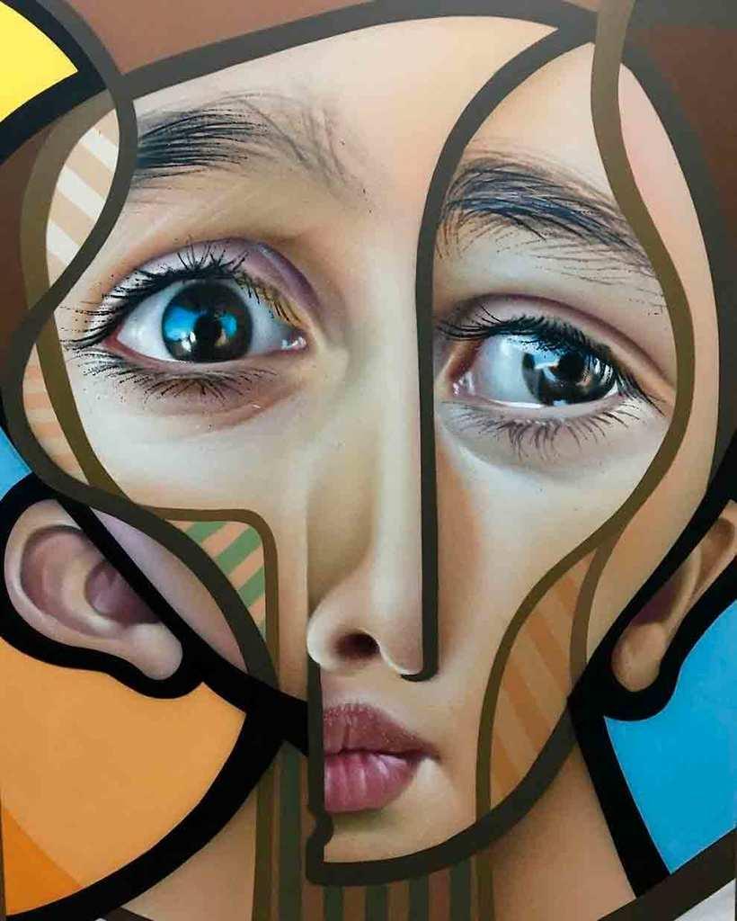 El graffiti realista-cubista de Belin 7