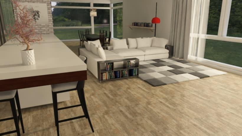 Interior VRay 3DMax. 0