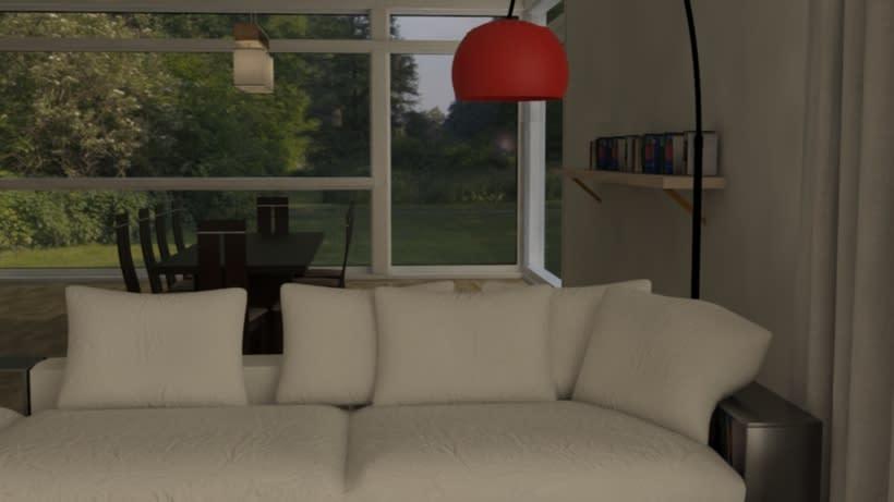 Interior VRay 3DMax. 2