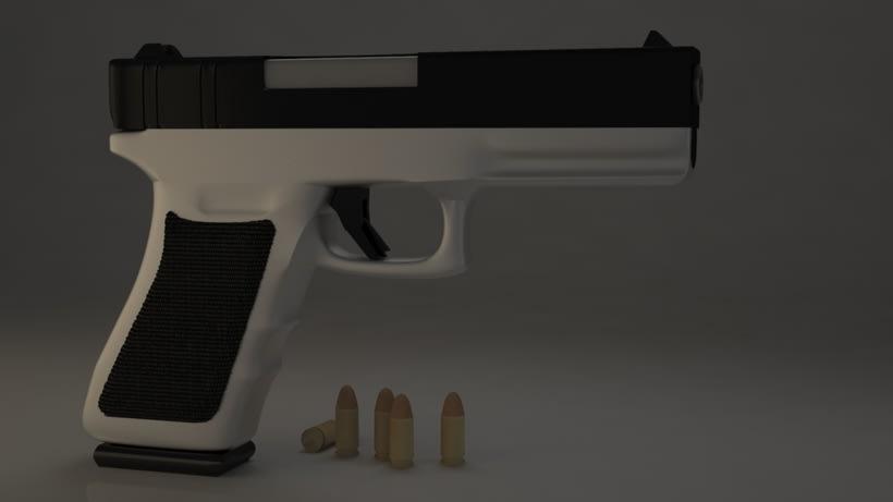 Pistola 3DMax. -1