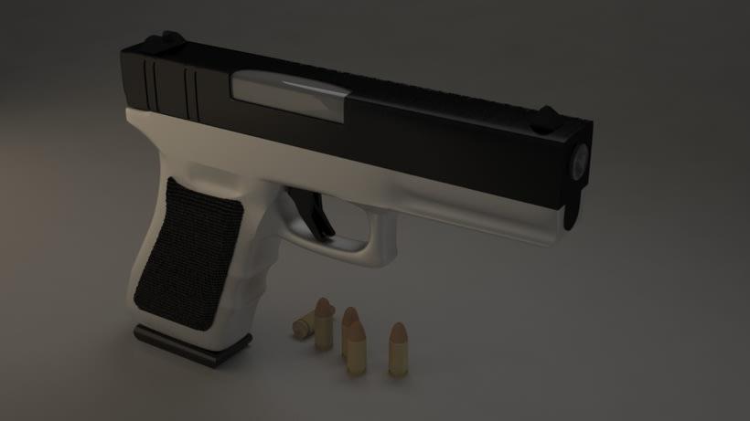 Pistola 3DMax. 0