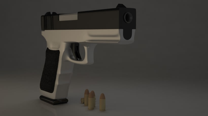 Pistola 3DMax. 1