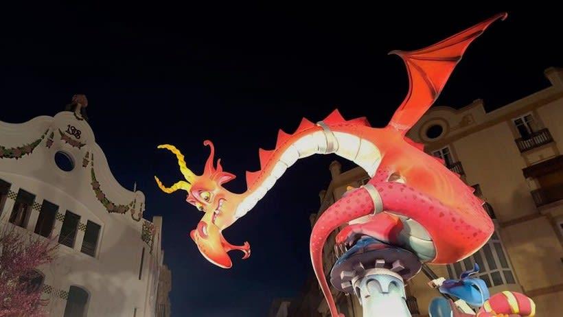 Fallas - Torre del Dragón  14
