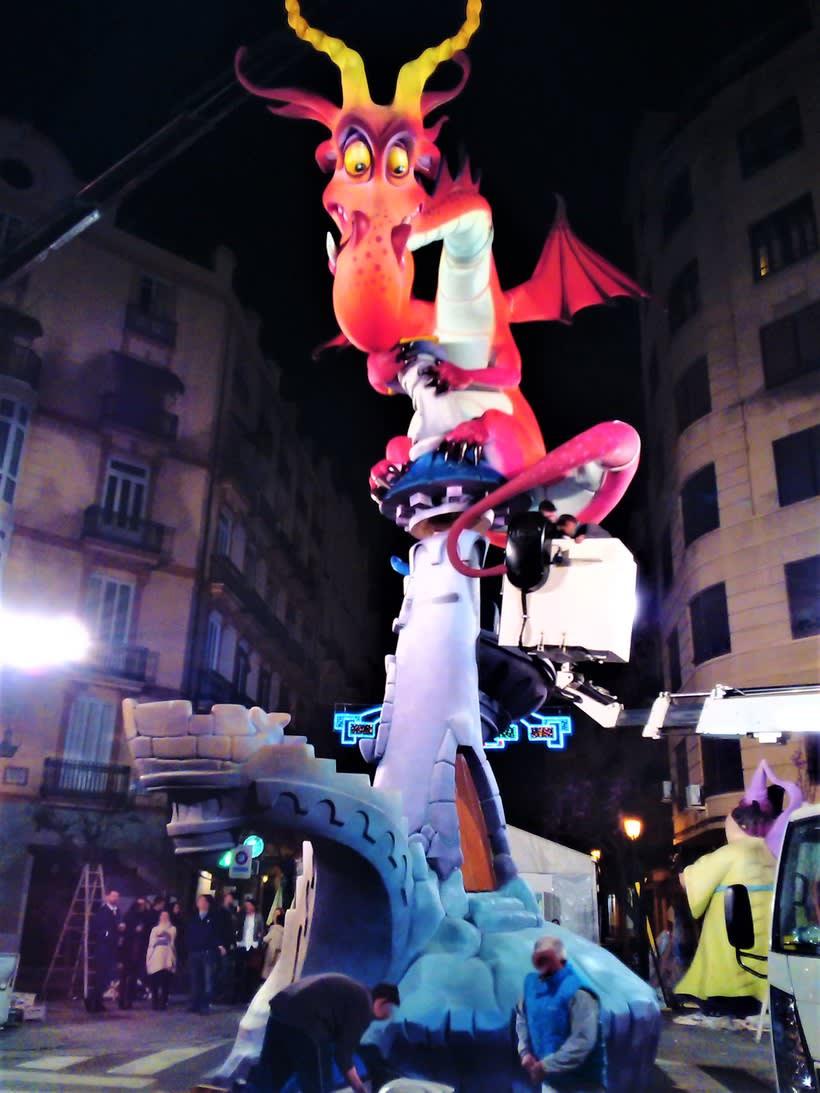 Fallas - Torre del Dragón  13