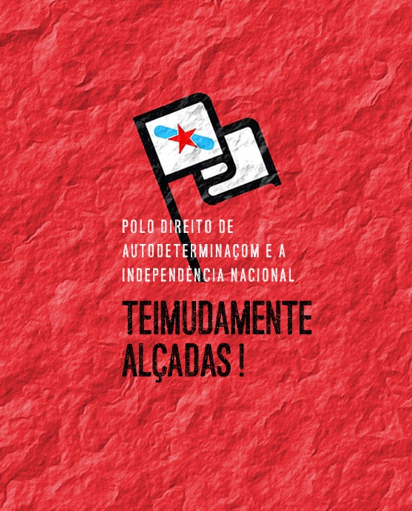 "Gráfica e campanha solidaria com independentistas galegos encausados na ""Operación Jaro"" polo estado espanhol 0"