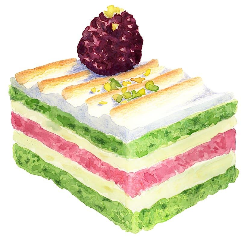 Ilustraciones para pastelería 0