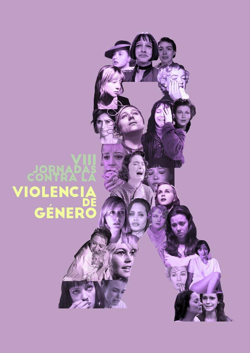Cartel Jornadas contra la violencia de género 0
