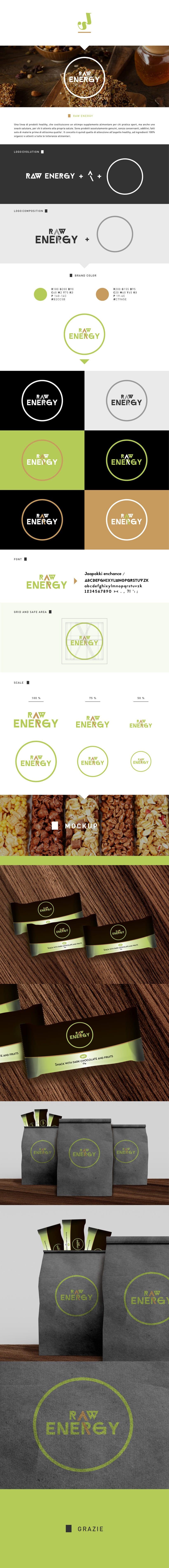 Proposal logo / Raw energy -1
