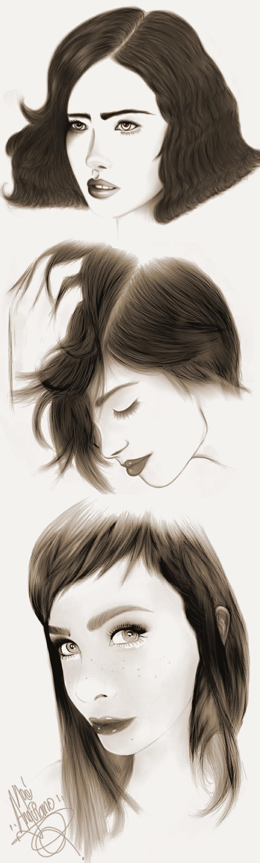 sketch 3 chicas  2016 -1