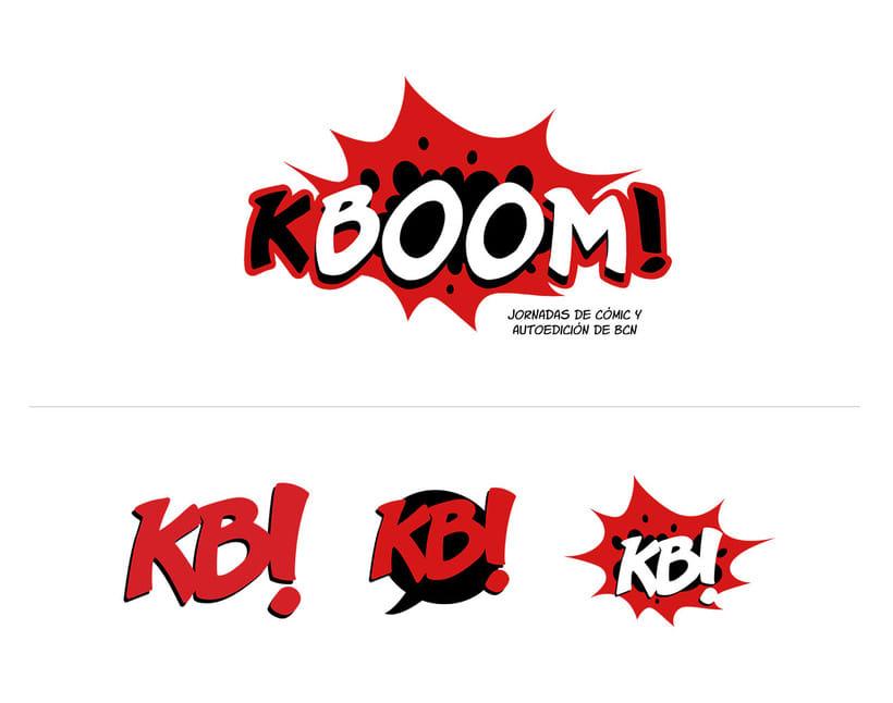 KBOOM! Jornadas de cómic y autoedición de BCN 0