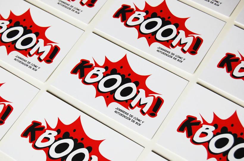 KBOOM! Jornadas de cómic y autoedición de BCN 1