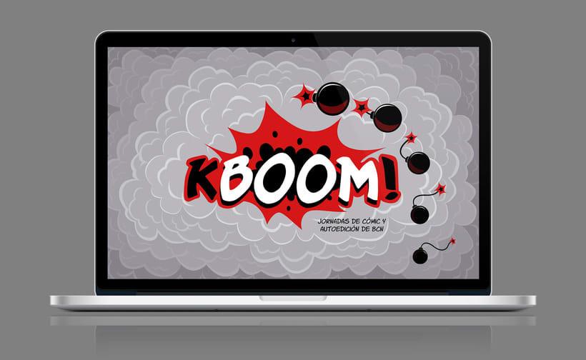 KBOOM! Jornadas de cómic y autoedición de BCN 3