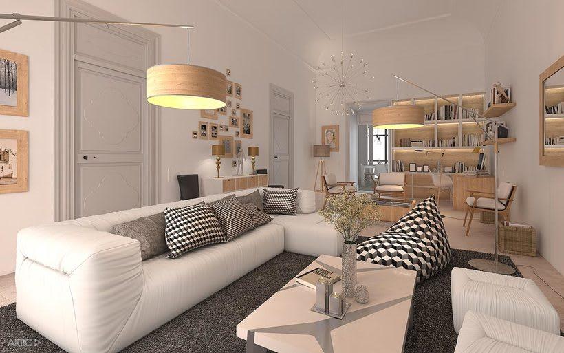 Proyecto de reforma, interiorismo y visualización 3D 1