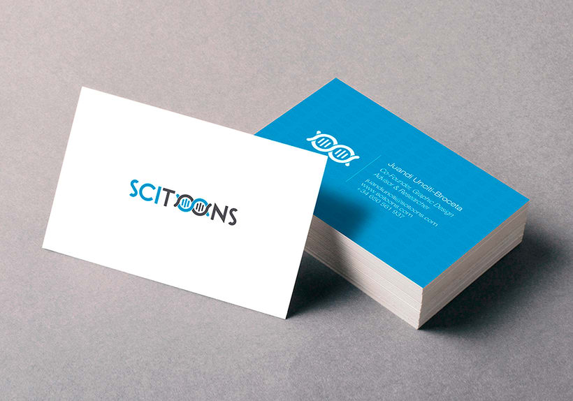 Scitoons 'Scientific graphic design company' 2
