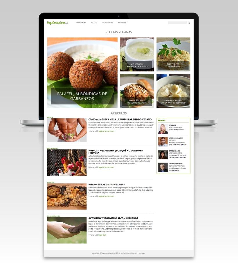 Blog sobre el vegetarianismo 1
