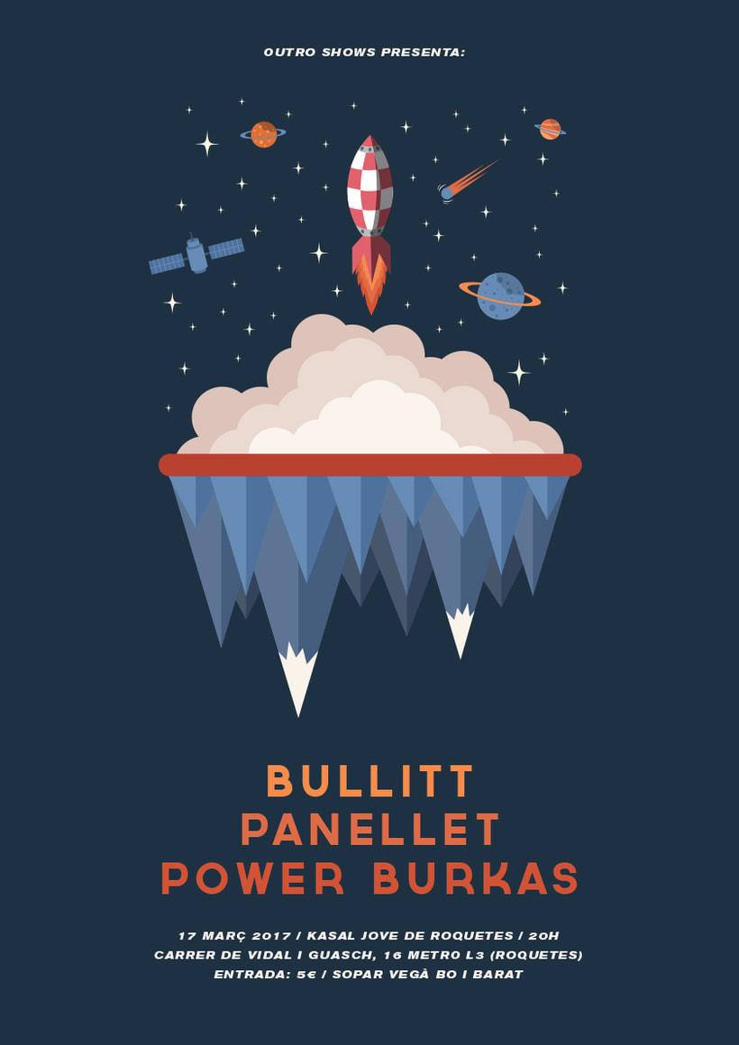 Bullitt + Panellet + Power Burkas -1
