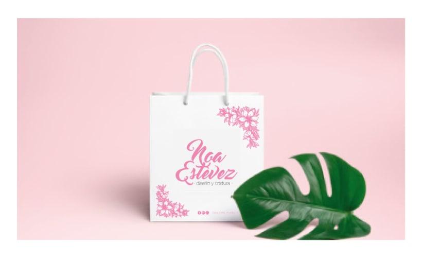 Noa Estévez - Diseño y costura · Identidad visual (branding) 0
