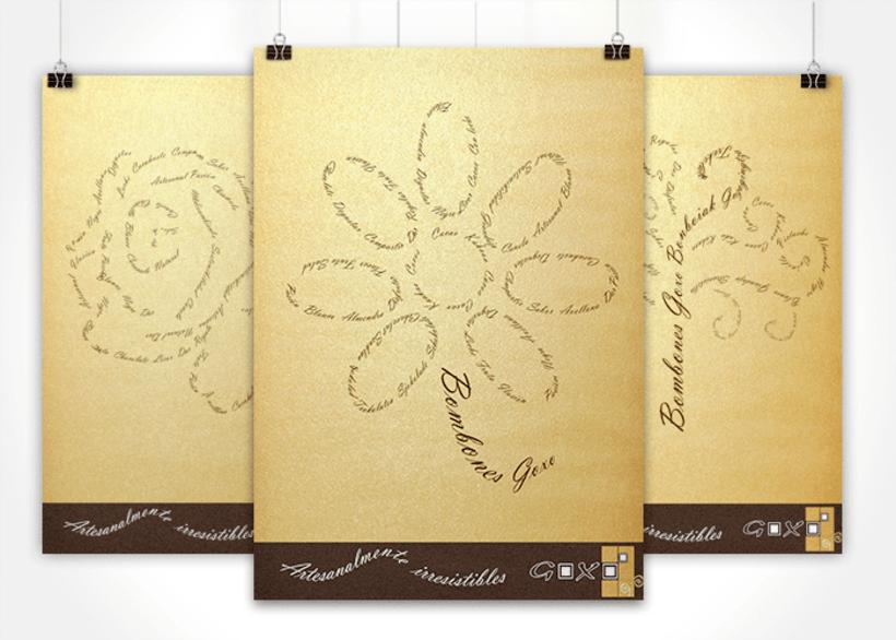Proyecto de cartelería y packaging chocolates artesanal -1