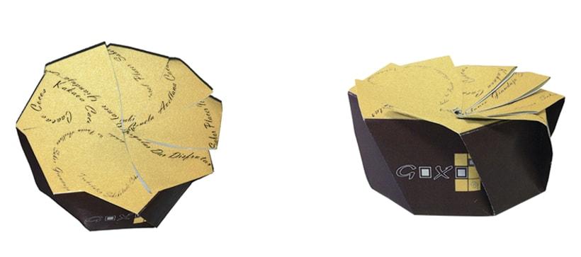 Proyecto de cartelería y packaging chocolates artesanal 0