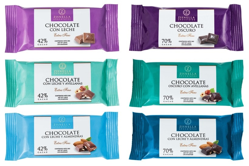 Zisnella Chocolates Packaging -1