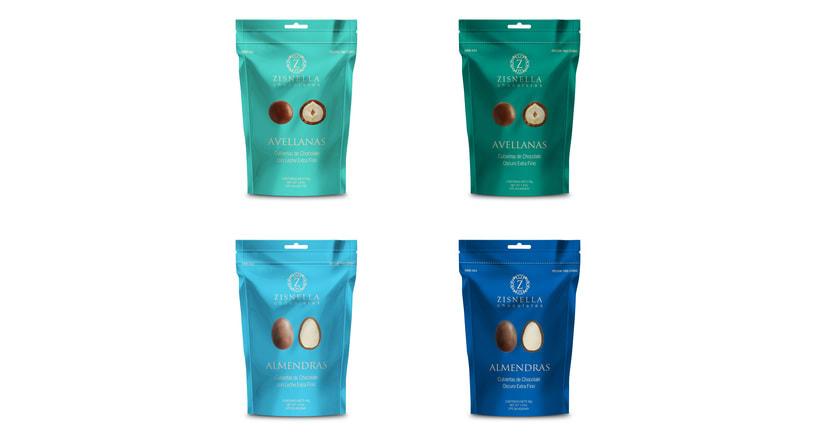 Zisnella Chocolates Packaging 0